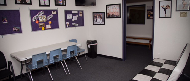 Picture of the main common area at Kane Dance Academy