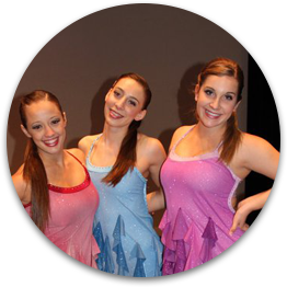 Picture of Kane competition dancers.