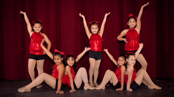 Kane Scholarship dancers from the 2016 Christmas show